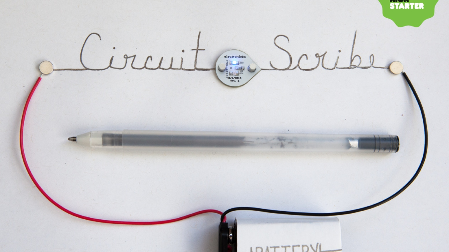 Circuit Scribe Draw Circuits Instantly By Electroninks Incorporated What Are Electronic Is A Rollerball Pen That Writes With Conductive Silver Ink It Makes Creating
