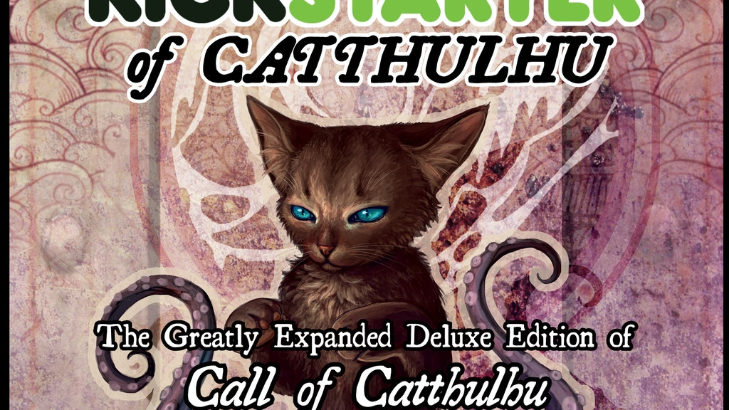 CALL OF CATTHULHU -- DeLUXE! project video thumbnail