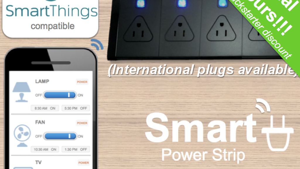 Smart Power Strip- Control your appliances from anywhere project video thumbnail