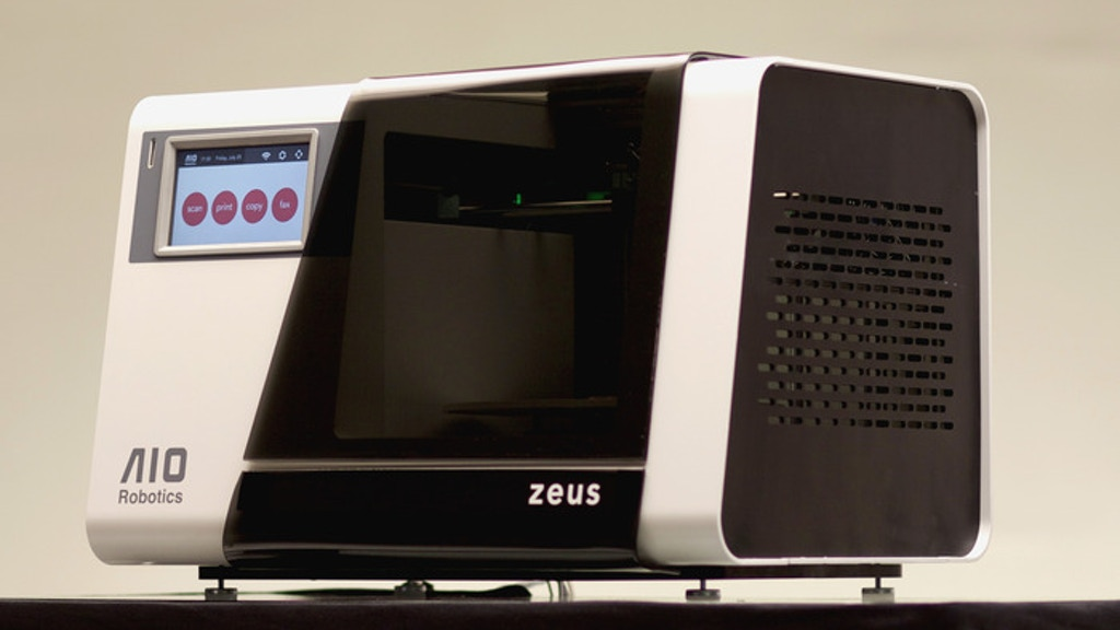 ZEUS: The World's First ALL-IN-ONE 3D Printer / Copy Machine project video thumbnail