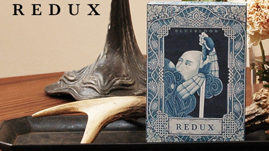 Blueblood Redux Limited Edition Playing Cards project video thumbnail