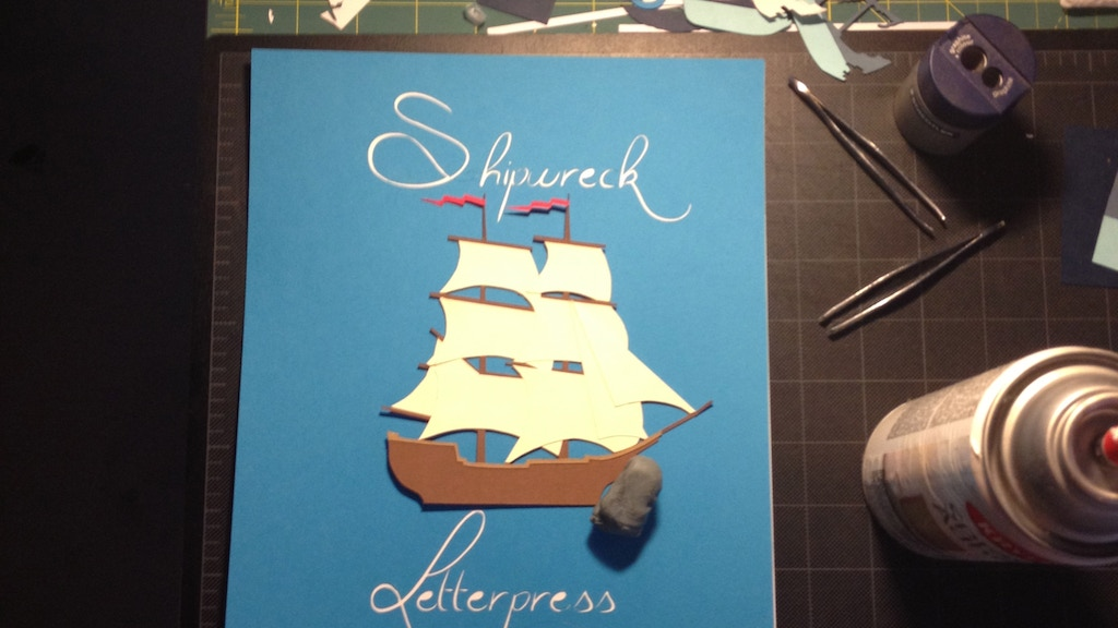 Shipwreck Letterpress project video thumbnail