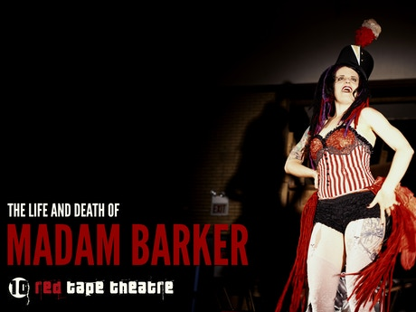 MADAM BARKER: From Page to Cabaret Play! by Red Tape ...