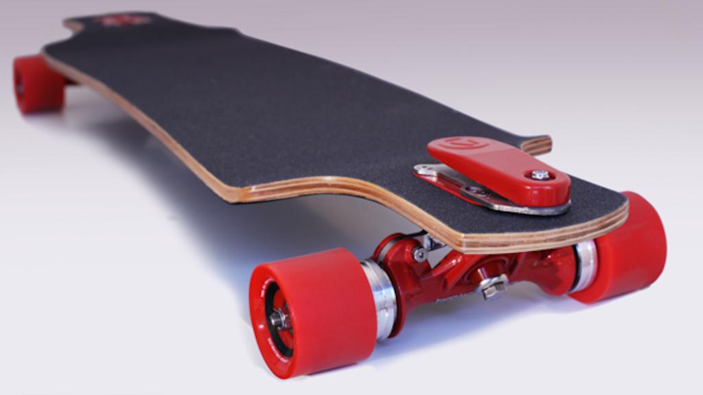 Brakeboard - Brakes For Longboard Skateboards. project video thumbnail