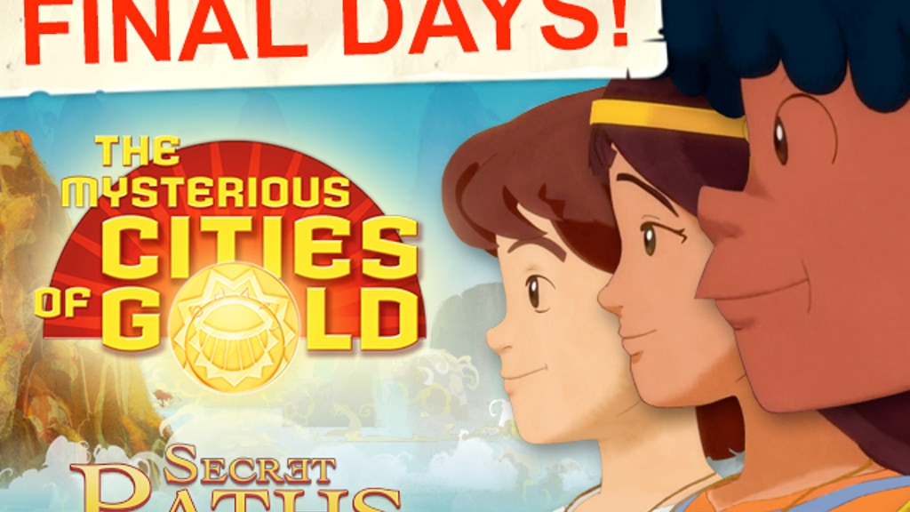 Mysterious Cities of Gold - The Video Game! project video thumbnail