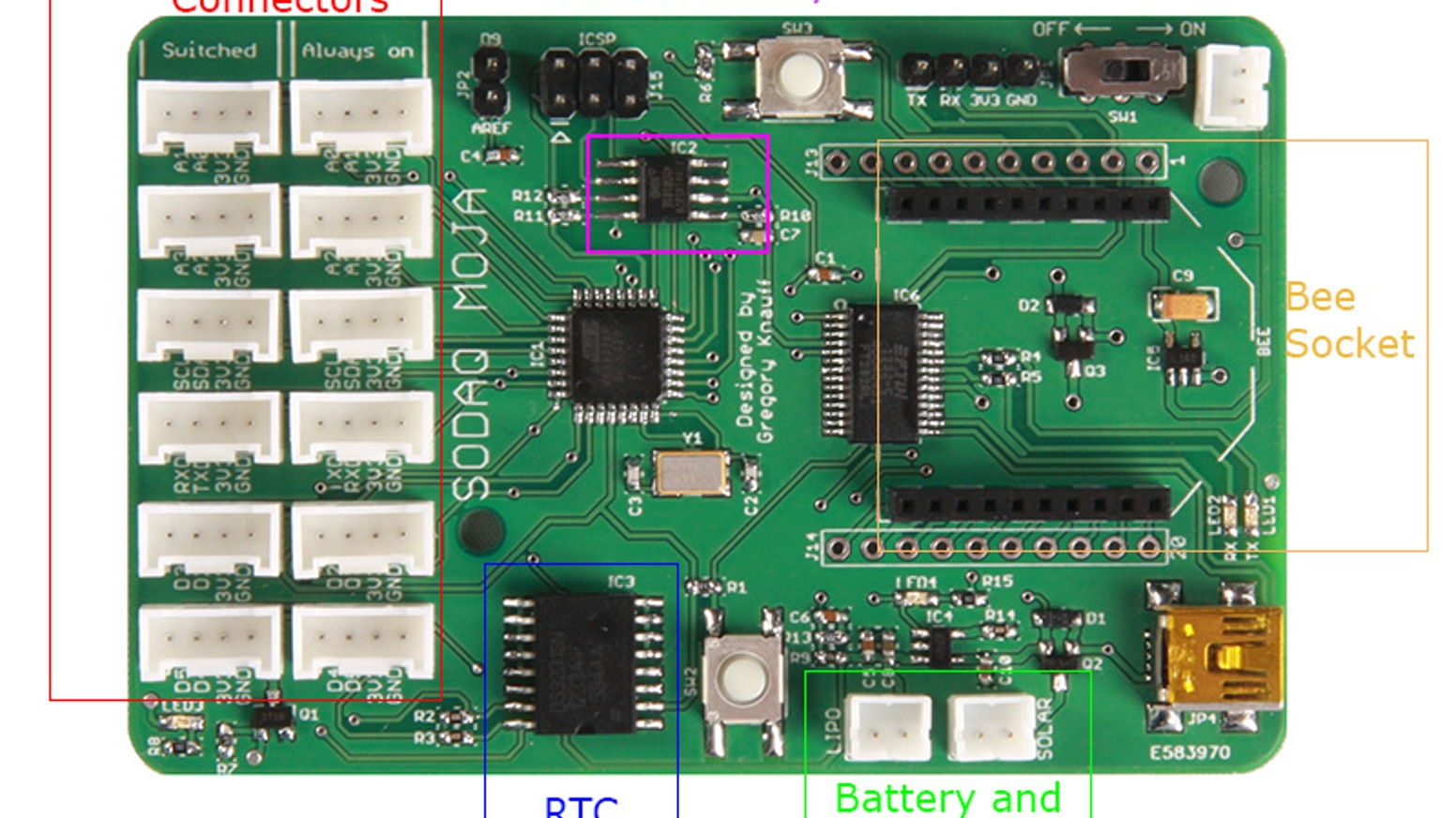 The Arduino compatible board to take your projects beyond your home and garden. Anywhere your imagination takes you.