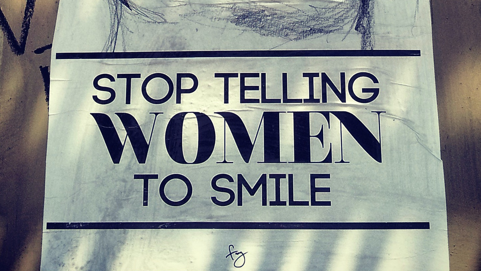 Stop Telling Women to Smile  Around The Country by Tatyana ... 7294e09ef