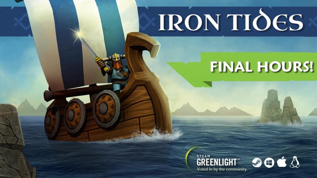 Miniature de la vidéo du projet Iron Tides - a Viking themed survival-strategy game.