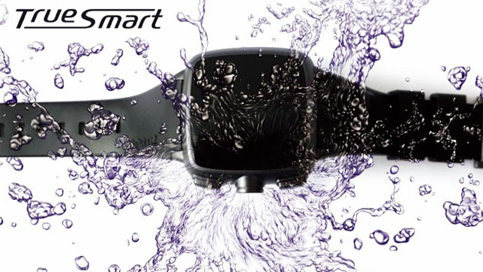 Omate® TrueSmart™ truly standalone water-resistant smartwatch, works independently from and with all smartphones. 3G, Voice & Gestures!