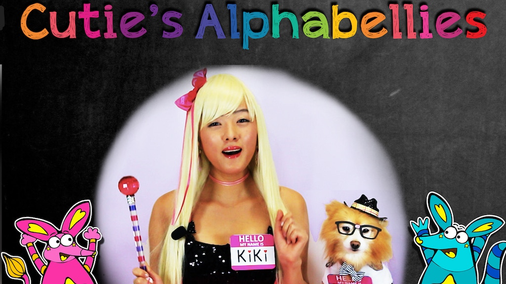 Cutie's Alphabellies by KiKi & Kiddo!  ABC Children's Book project video thumbnail