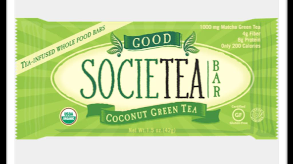 Good Societea Bars -- Kick us in the tea-infused bars! project video thumbnail