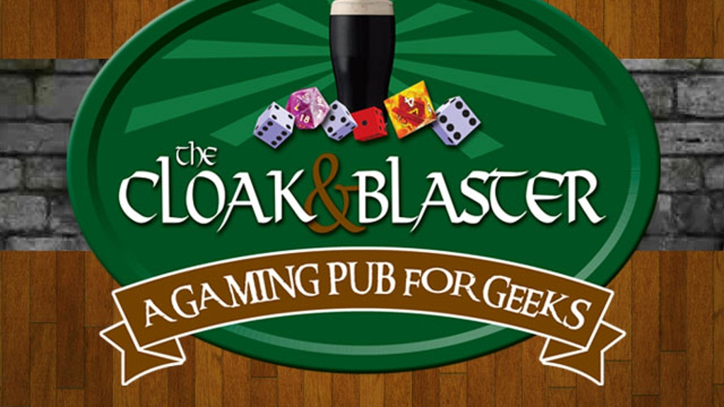 Bring Magic to The Cloak & Blaster Gaming Pub for Geeks! project video thumbnail