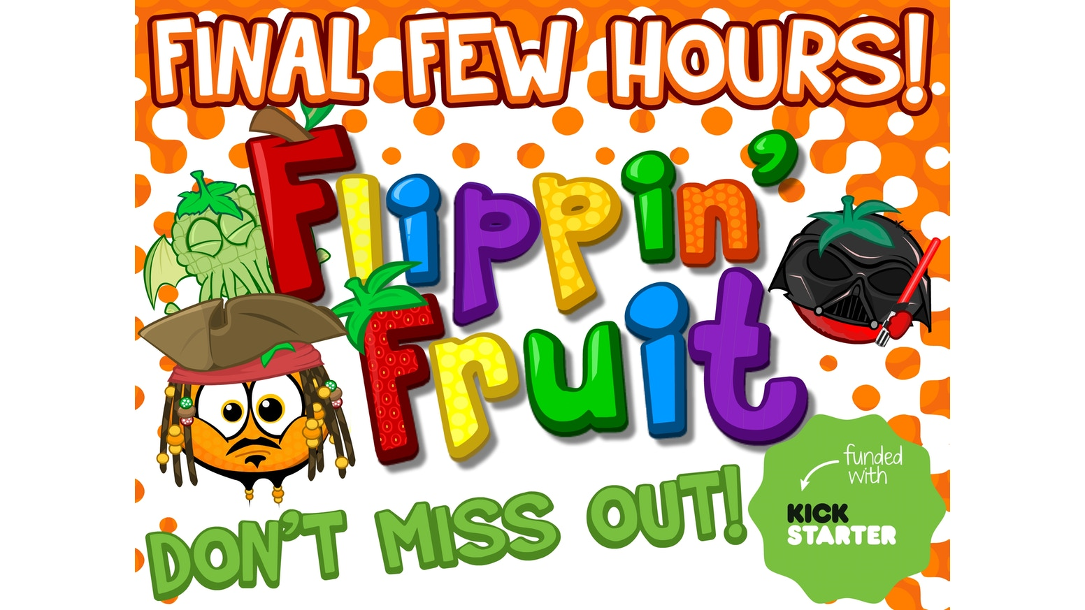 Fruit pop crush game - Flippin Fruit Is A Crazy Competitive Tabletop Game Of 12 Sided Dice Cards