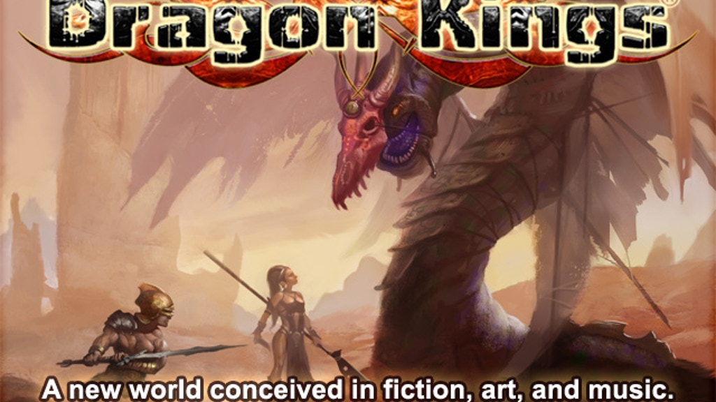 Dragon Kings project video thumbnail