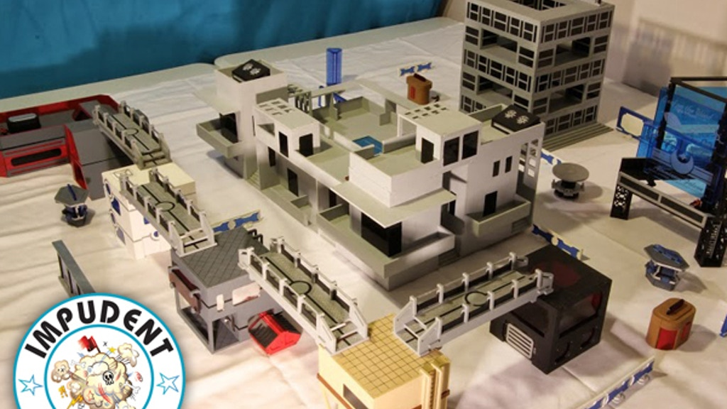 Impudent Mortal's  28mm Near Future / Sci Fi Tabletop City project video thumbnail
