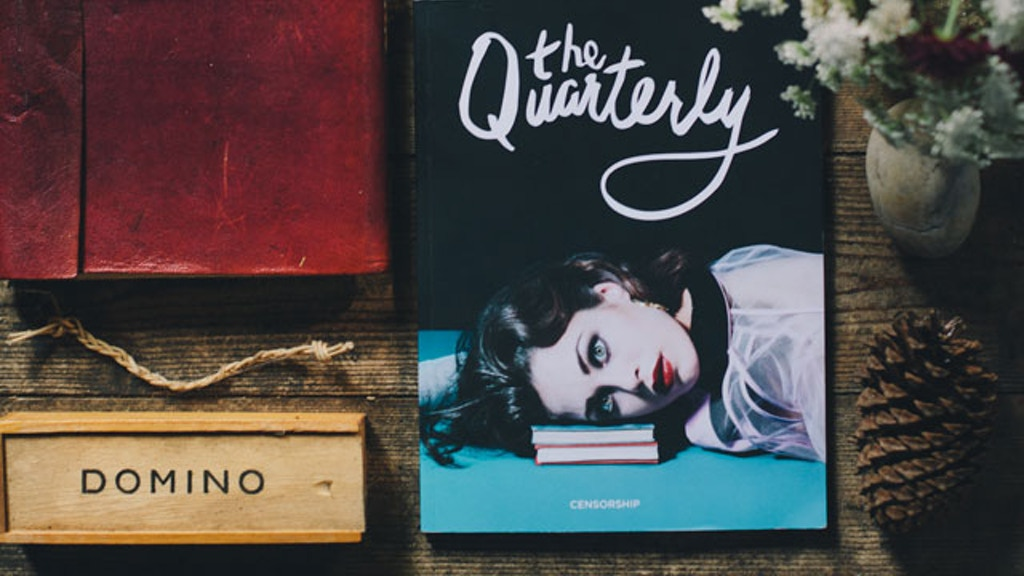The Quarterly Issue Two: Life and Culture project video thumbnail