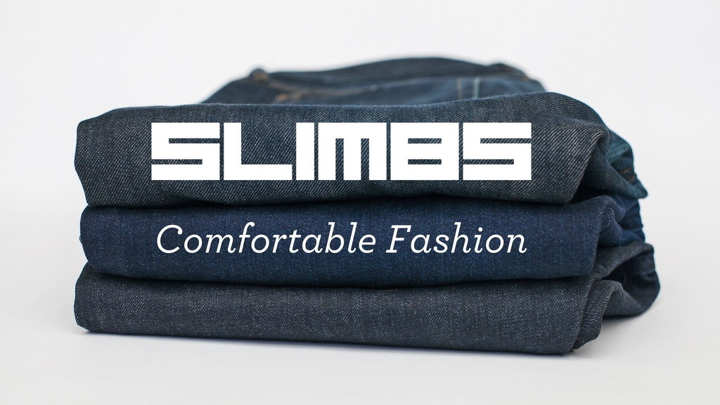 Slimbs: Slim fit jeans that aren't a pain to your manhood. project video thumbnail