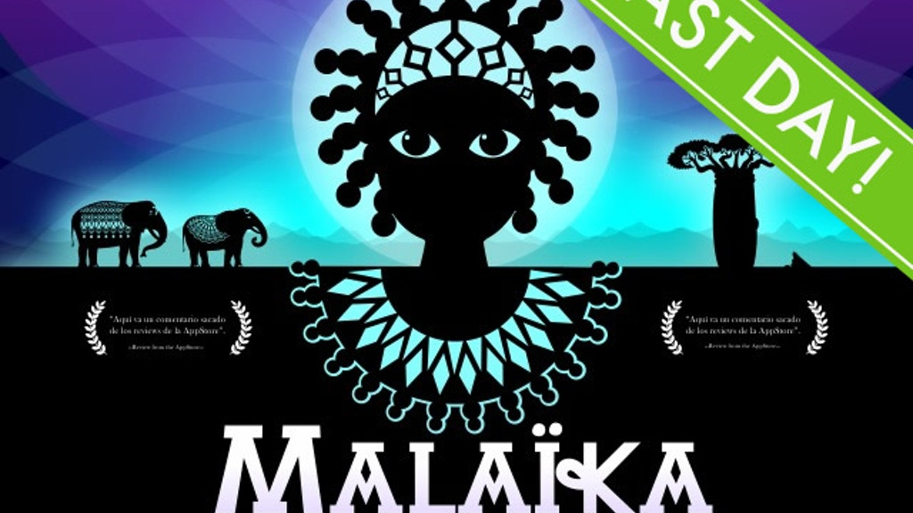 Malaika The Princess: a children's short film about death project video thumbnail