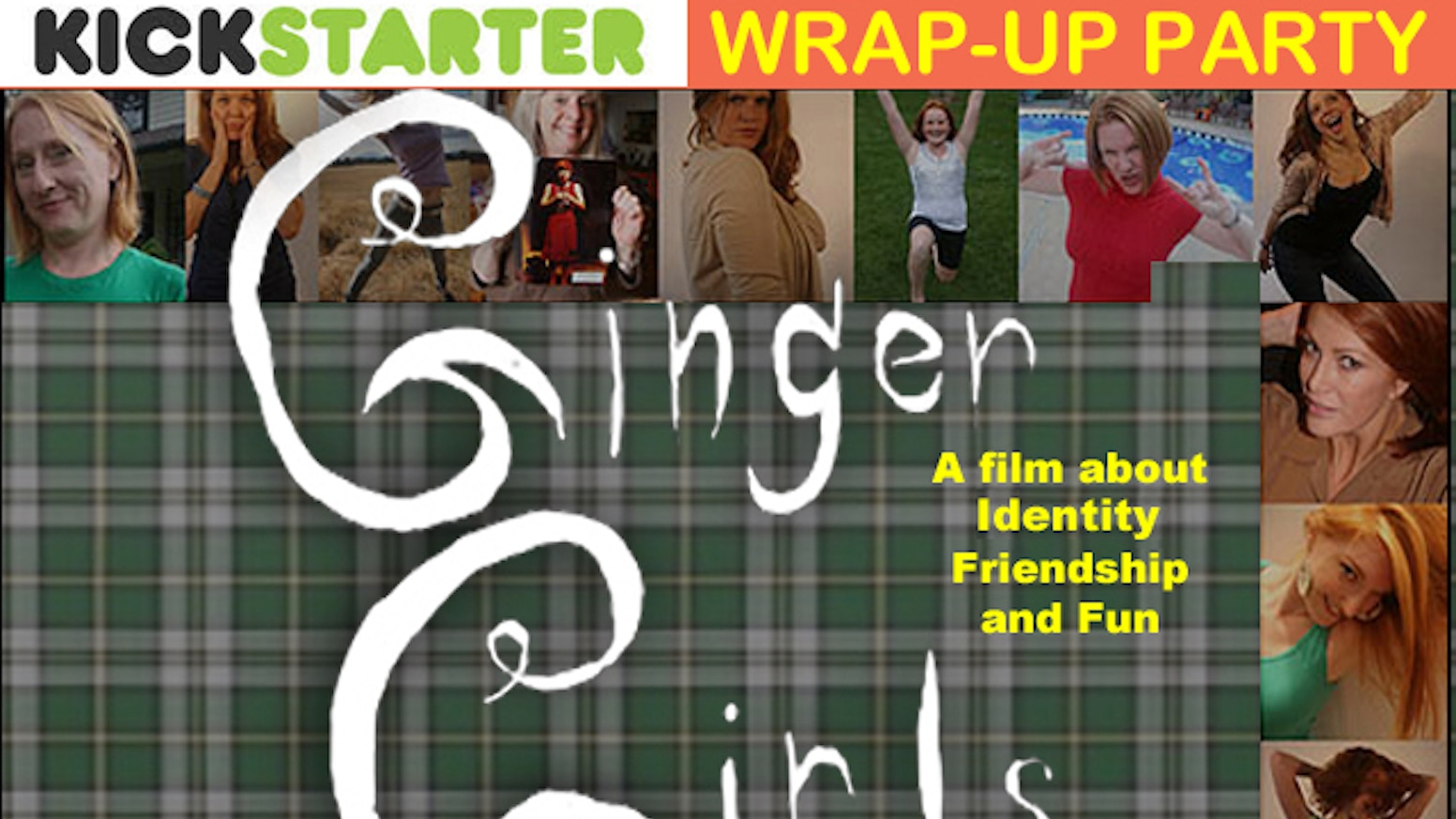Ginger Girls Redhead Documentary Wrap Up Campaign By Alexia