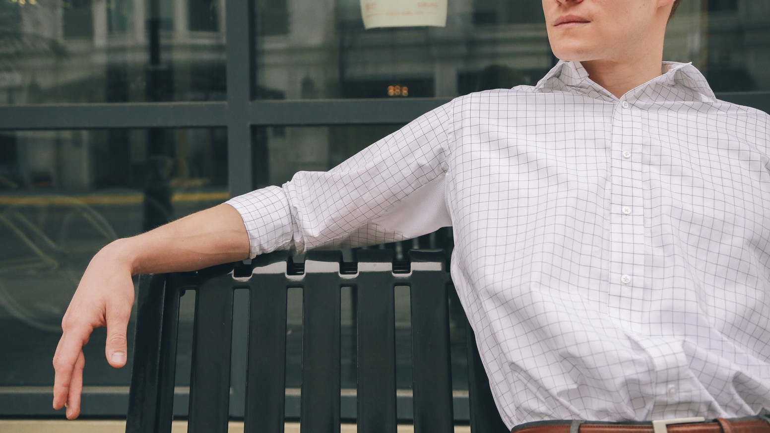 d96ed234ad The first dress shirt to successfully blend 100% cotton with  moisture-wicking athletic wear