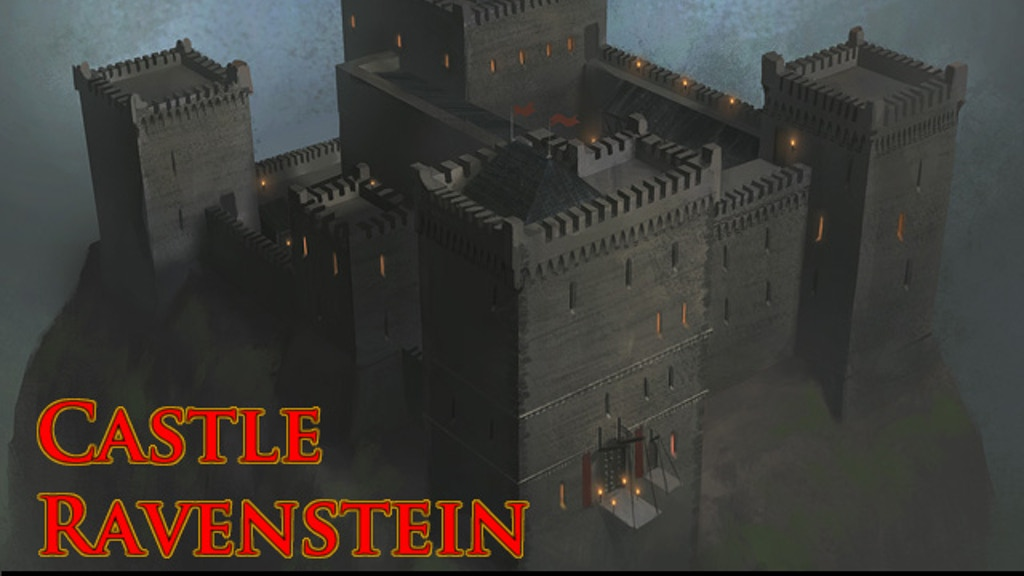 Role Playing Game Castle Map By