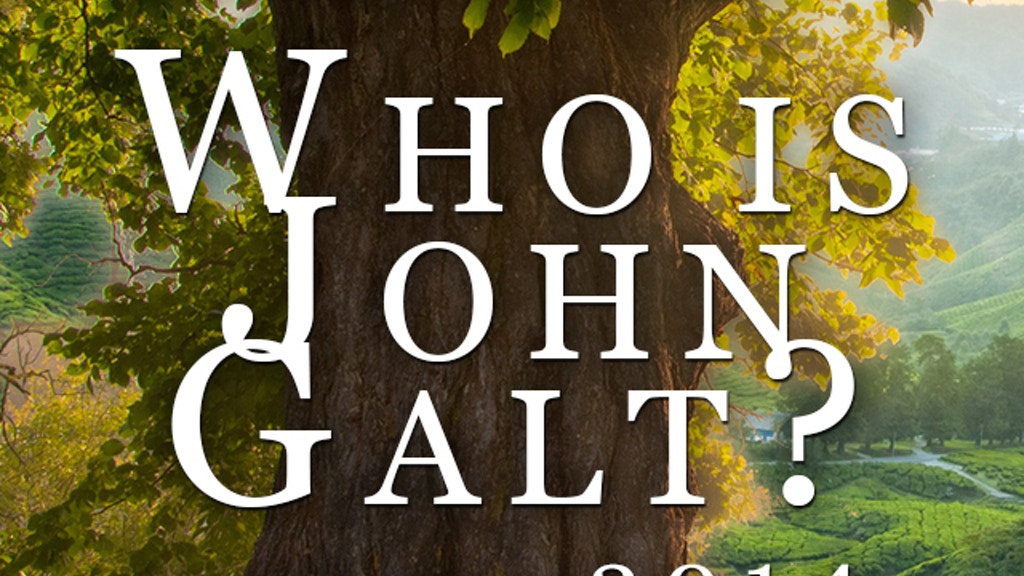 "ATLAS SHRUGGED Movie ""Who is John Galt?"" project video thumbnail"