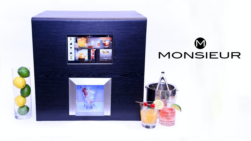 Monsieur. The Artificially Intelligent Robotic Bartender. project video thumbnail
