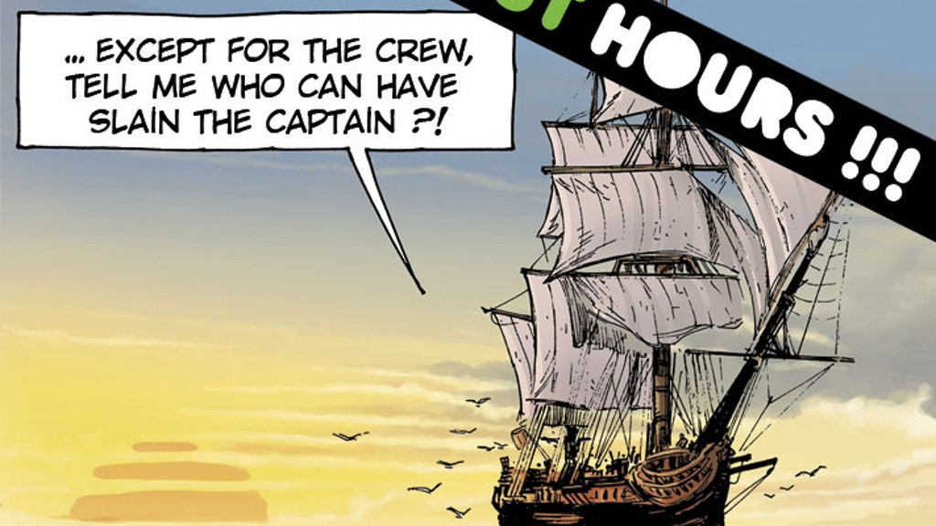 THE WILL OF CAPTAIN CROWN - A hardboiled pirate comic book ! project video thumbnail
