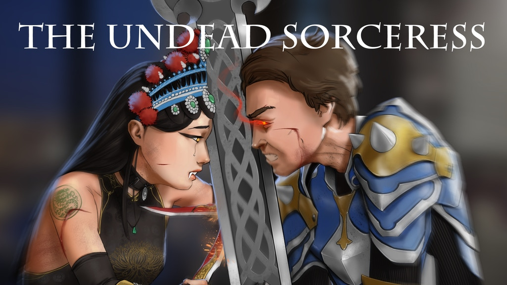 The Undead Sorceress, A Multicultural Urban Fantasy Book project video thumbnail