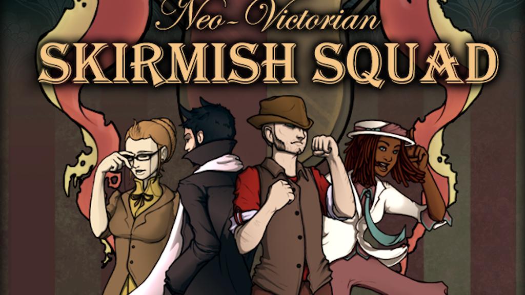 Neo-Victorian Skirmish Squad project video thumbnail
