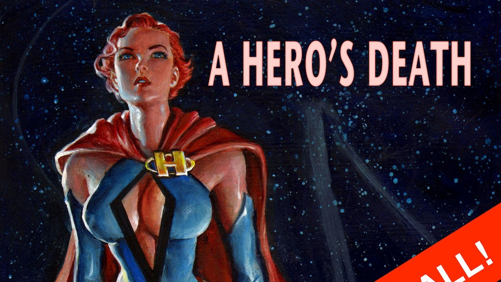 A Hero's Death Graphic Novel project video thumbnail