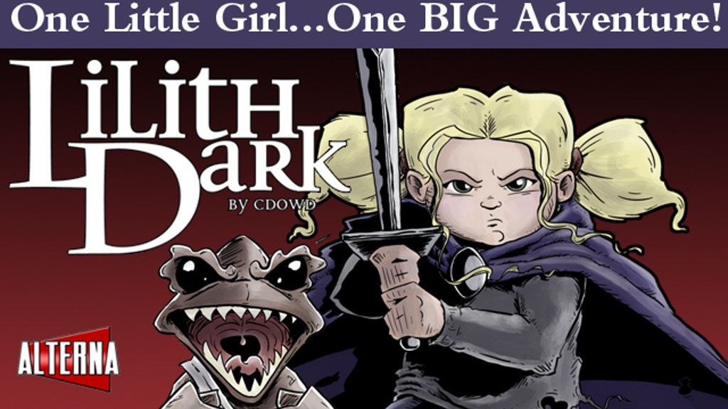 Lilith Dark and the Beastie Tree: A Graphic Novel project video thumbnail