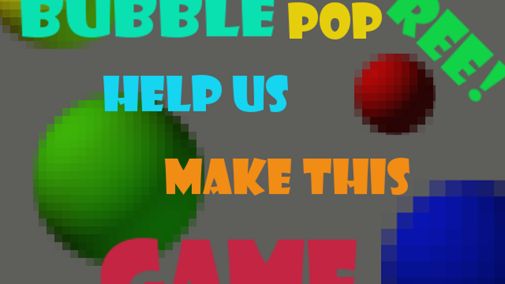 Project image for Bubble Pop Free (Canceled)