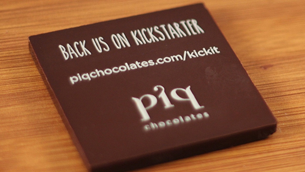 Custom Shaped Chocolates by piq Chocolates project video thumbnail