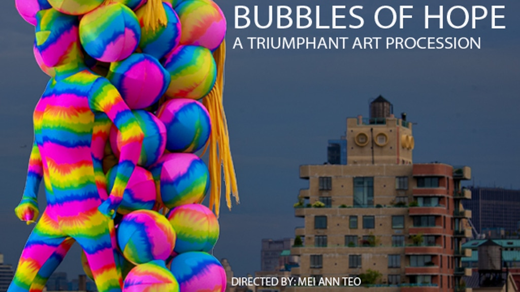 BUBBLES OF HOPE by Andrey Bartenev, Dumbo Arts Festival project video thumbnail