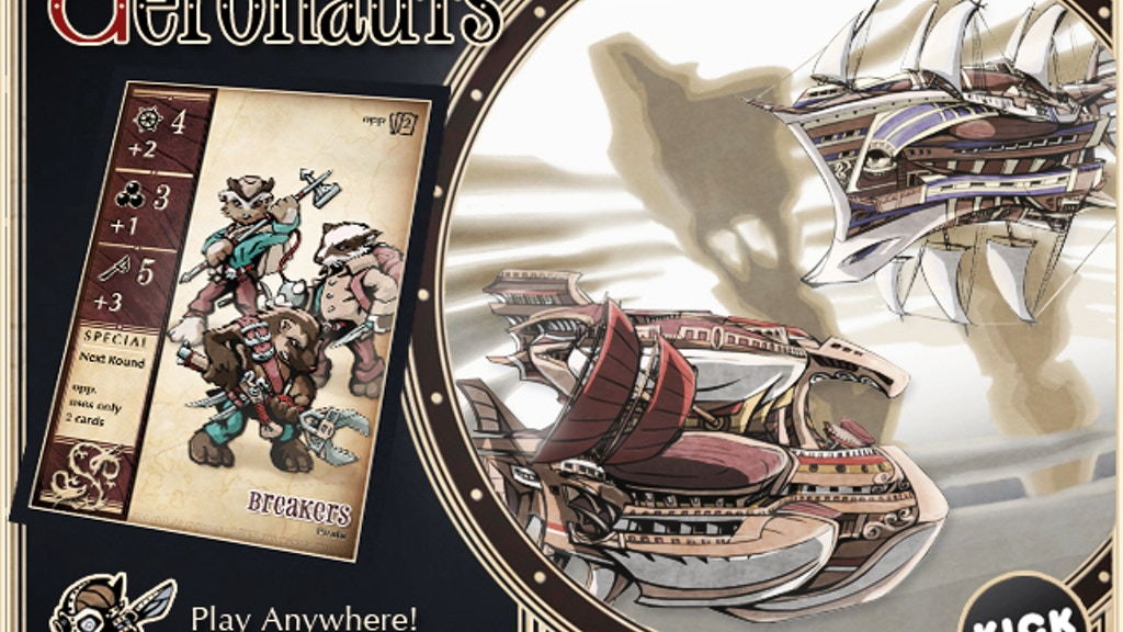 oddball Aeronauts: Pirates vs. The Pendragon project video thumbnail