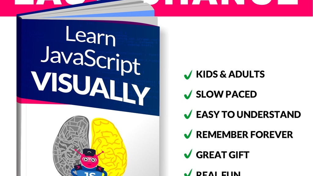 Learn JavaScript VISUALLY (anyone can learn to code) project video thumbnail