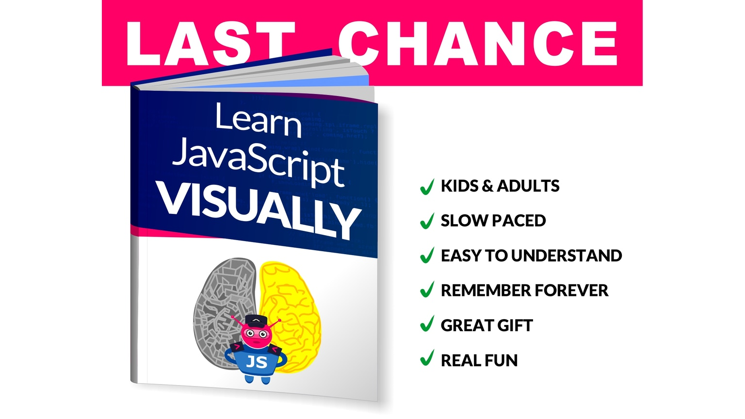 Start learning JavaScript with our free real time tutorial