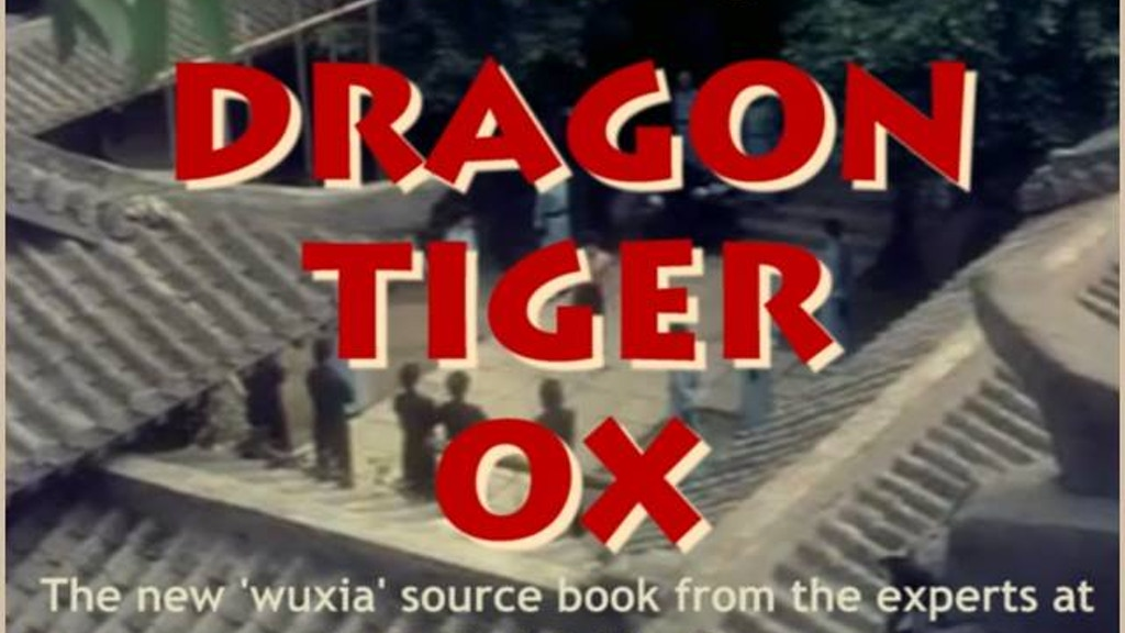 Dragon Tiger Ox (Pathfinder Wuxia Sourcebook) project video thumbnail