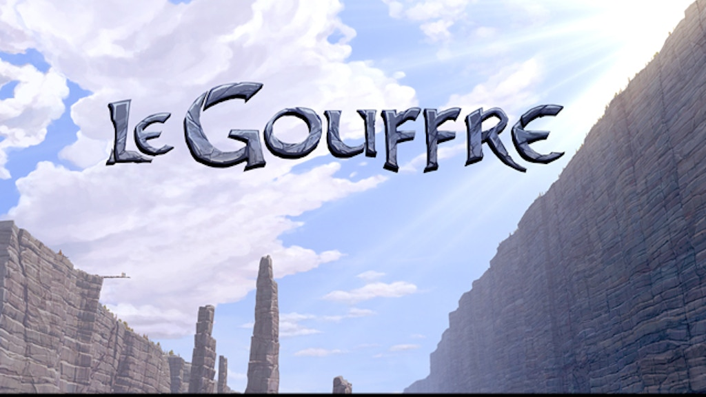 Le Gouffre - Animated Short Film project video thumbnail