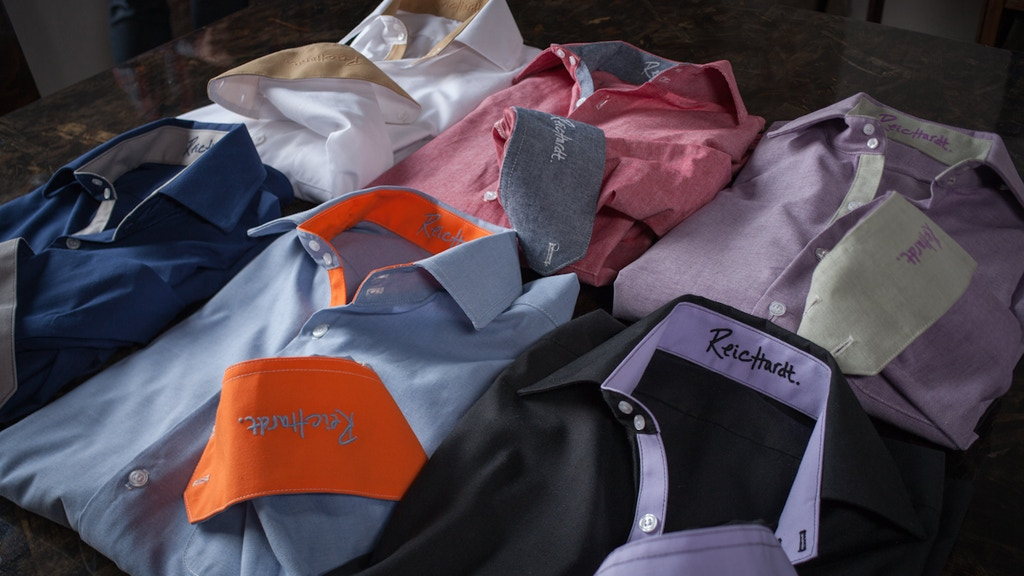 Reichardt: Men's button downs designed to be worn untucked project video thumbnail