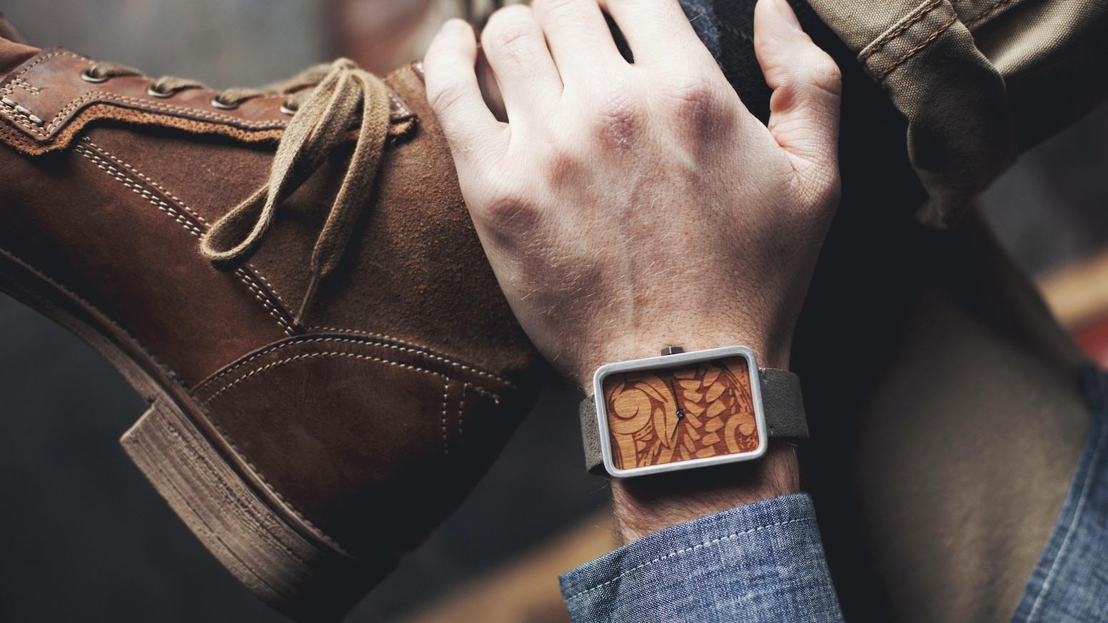 Schmutz (sh-moots) Watches by Lee Dowell — Kickstarter