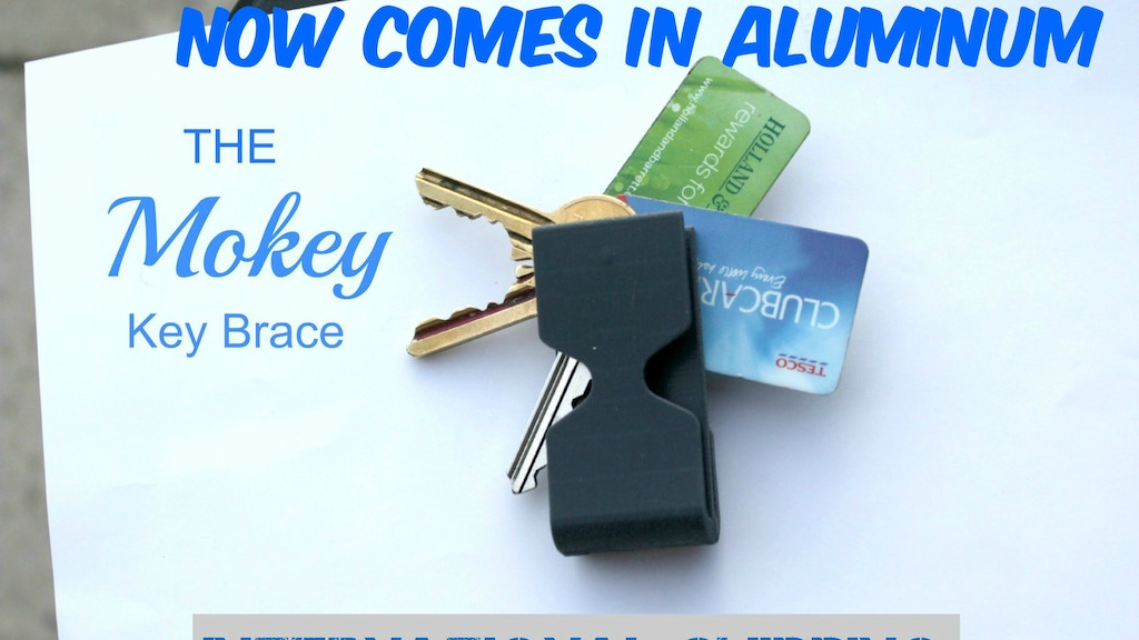 Mokey Key Brace & Pocket Organizer project video thumbnail