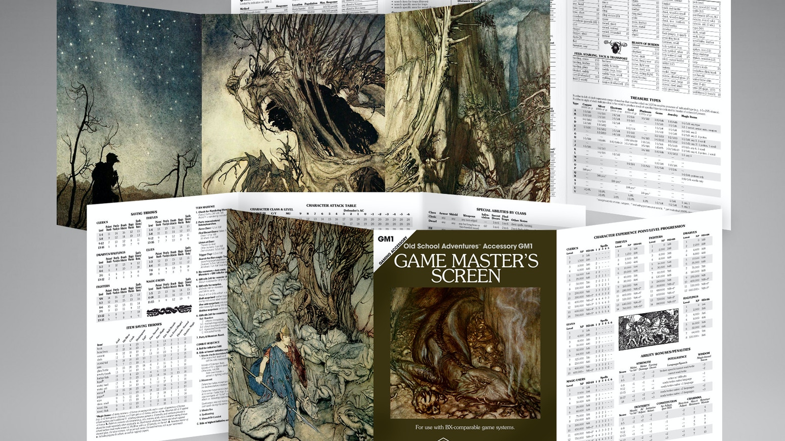 Classic Edition GM Screen by New Big Dragon Games Unlimited