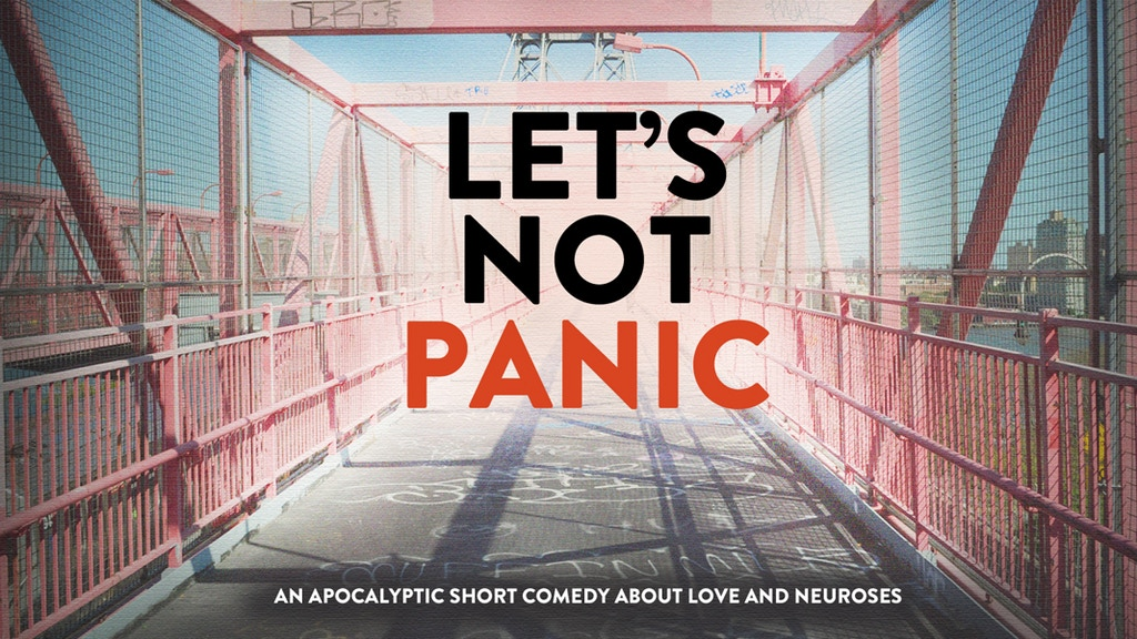 LET'S NOT PANIC project video thumbnail