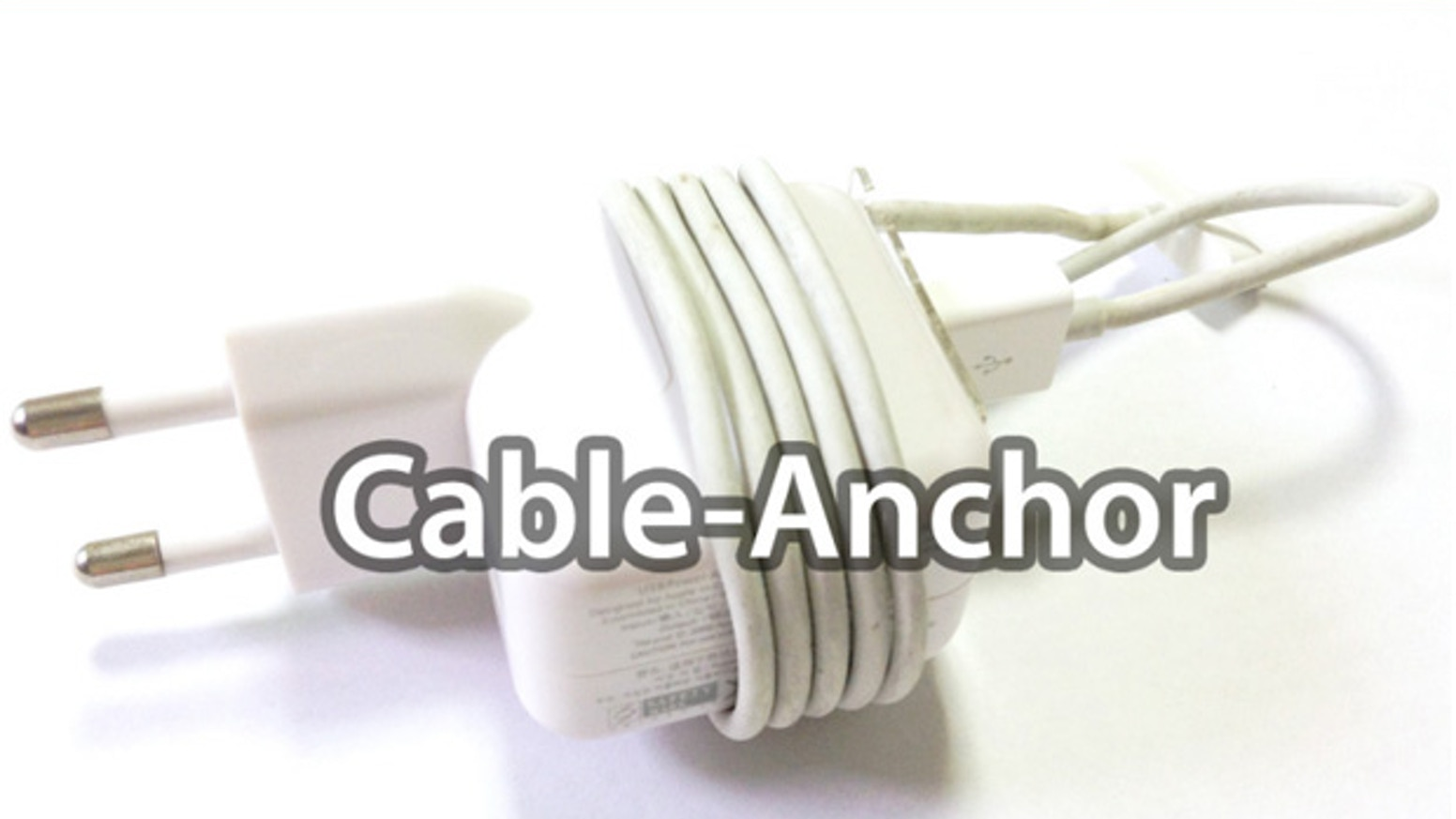 Cable-Anchor is THE SIMPLEST and FASTEST solution in the WORLD to keep your  iphone