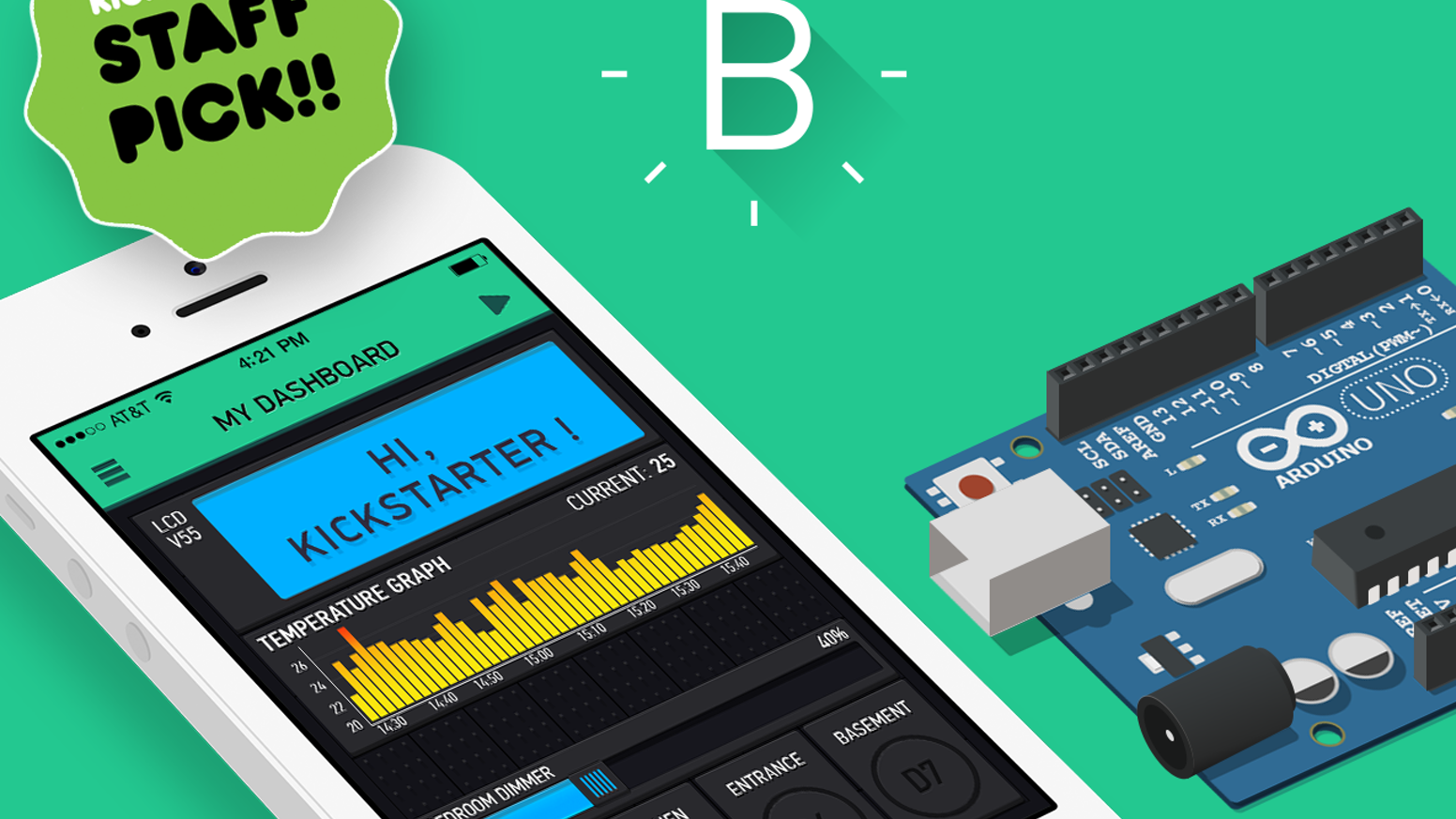 Blynk build an app for your arduino project in minutes