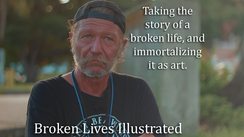 Broken Lives Illustrated project video thumbnail