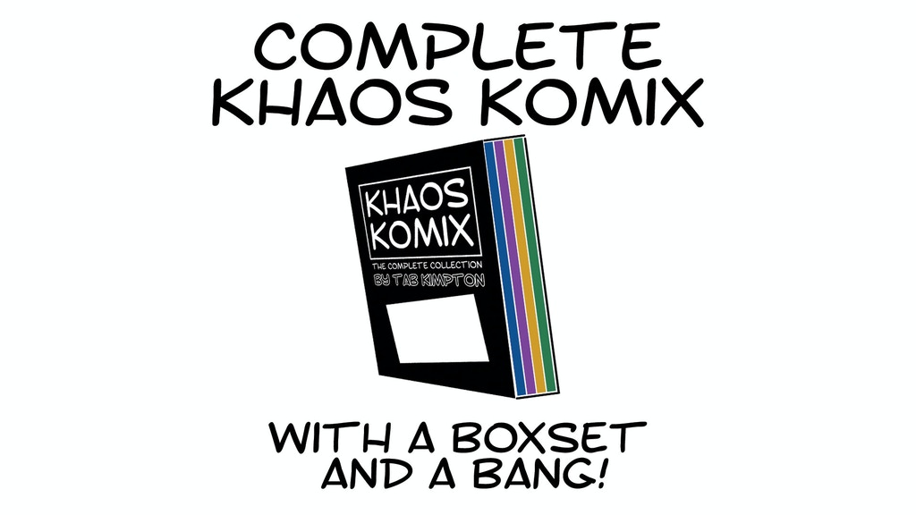 Complete Khaos Komix with a Boxset and a BANG! project video thumbnail