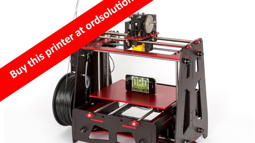 5 Color Material 3D Filament Printer